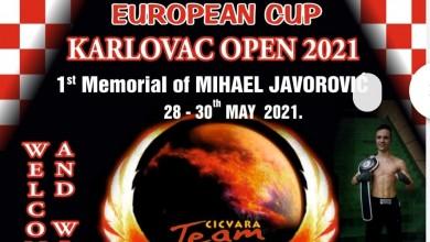 Photo of Za Europski kup u Karlovcu do sada se prijavilo više od 400 natjecatelja iz 13 država!