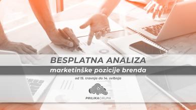 Photo of Prilika Grupa provodi besplatnu marketinšku analizu za brendove s dva tržišta, prijave do 14. svibnja