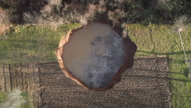 Photo of Urušne ponikve oko Mečečana su stara pojava, a potres ju je samo ubrzao