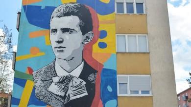 Photo of Mladi se Tesla muralom Leonarda Lesića vratio u Karlovac