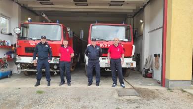 Photo of PRIPREME ZA POŽARNU SEZONU Glavni vatrogasni zapovjednik posjetio senjske vatrogasce
