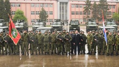 Photo of FOTO U vojarni u Gospiću održan svečani ispraćaj Motorizirane satnije u NATO operaciju KFOR u Republiku Kosovo