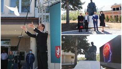 Photo of FOTO Održana svečanost povratka spomenika Nikoli Tesli u Gospić