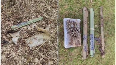 Photo of Građani na dvije lokacije pronašli ručne bacače raketa, streljivo i bombu