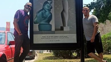Photo of FOTO Petar Hranuelli i Petar Ćujo izlažu u Budvi