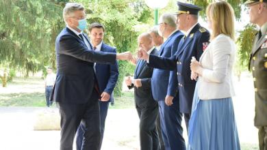 """Photo of Plenković u Sisku: """"Želimo revitalizirati Banovinu, Liku, Gorski kotar i Dalmatinsku zagoru"""""""