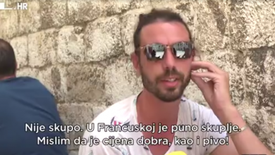 """Photo of VIDEO Kad će sezona """"računa sa Straduna""""? Turisti trenutno uživaju u cijenama u Dubrovniku"""