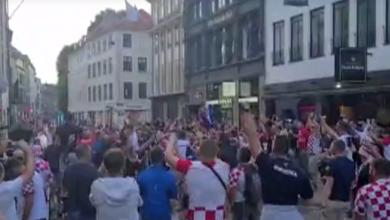 Photo of VIDEO Hrvatski navijači preplavili ulice Kopenhagena i napravili fantastičnu atmosferu