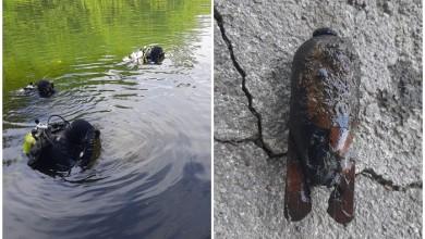 Photo of Ronioci ATJ Lučko pretražili još jednu rijeku u Gospiću i pronašli minu