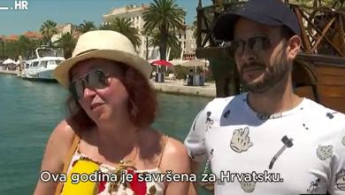 """Photo of VIDEO Milijun turista! Hrvatska je izdržala do vrhunca sezone. Gosti: """"Cijepili smo se. I drugi se cijepe, pa smo opušteni"""""""