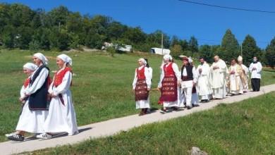 Photo of FOTO Biskup Križić predvodio središnje misno slavlje Velike Gospe u Krasnu