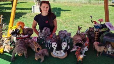 Photo of VUNENA ČAROLIJA MARIJANE MARINCEL Lička umjetnica odbačenu vunu pretvara u realistične životinjice i likove iz bajke