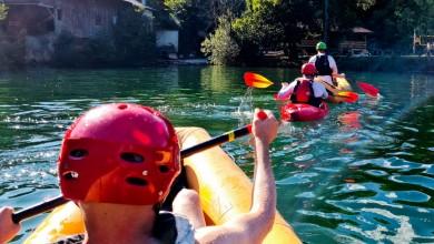 Photo of JEDINSTVENO ISKUSTVO Po prvi puta održan Rafting za slijepe osobe na Mrežnici