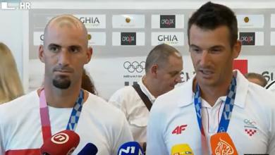 """Photo of VIDEO  Zlatnu braću Sinković i brončanog Damira Martina uz ovacije dočekali obitelj i navijači: """"Ono što smo sanjali smo i napravili"""""""