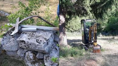 Photo of Incident na groblju Mance draga u Gornjem Kosinju, policija nije željela izaći na teren iako su ju građani zvali