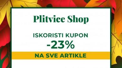 Photo of Plitvice Shop nudi veliki popust na cijelu web trgovinu povodom 23. Jeseni u Lici!