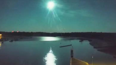 Photo of VIDEO  Nevjerojatan prizor: Meteor iznad Francuske osvijetlio noćno nebo