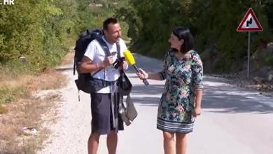 """Photo of VIDEO  Šimleša prehodao 515 kilometara za oboljele od raka: """"Nema koji dio tijela me nije bolio, ali sve se isplati, duša je puna"""""""