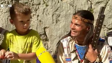 Photo of VIDEO  Hrabri indijanski poglavica ponovno je prošao kanjonom Velike Paklenice