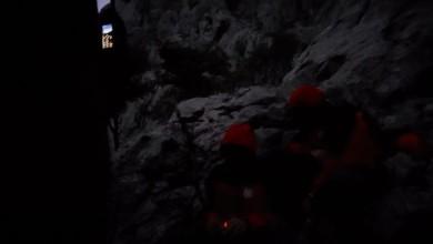 Photo of HGSS objavio dramatičnu snimku spašavanja penjača s Velebita